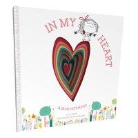 【现货】英文原版 成长的心儿童情绪绘本:我的感觉 In My Heart: A Book of Feelings 2-4
