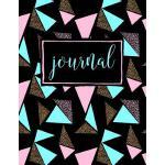 预订 Journal: Pink & Blue Triangles: Notebook & Journal [ISBN