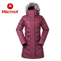 Marmot/土拨鼠女士拒水防风保暖700蓬休闲羽绒服
