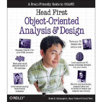 【预订】Head First Object-Oriented Analysis and Design: A Brain Friendly Guide to OOA&D 预订商品,需要1-3个月发货,非质量问题不接受退换货。