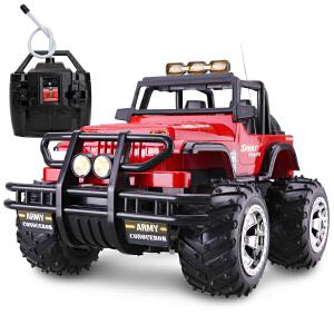 【满200减100】胜雄 大型34cm遥控汽车 大型悍马遥控车越野车 充电遥控玩具 儿童遥控车车模型 超有面子