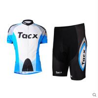 自行车男女通用款短袖骑行服套装 夏季室内训练骑行服装备