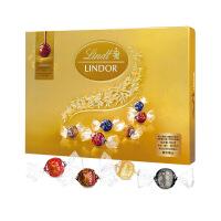 Lindt瑞士莲软心精选巧克力 - 14粒装礼盒168克保质期至20年5月