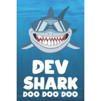 【预订】Dev - Shark Doo Doo Doo: Blank Ruled Name Personalized