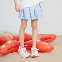 【5折价:99元】探路者童装 2021夏新品棉质弹力印花可爱女童裙裤QAQJ84144