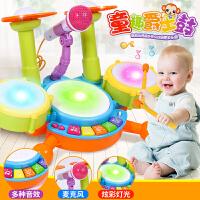 优乐恩 宝宝多功能仿真汽车电话机婴幼儿玩具音乐电动手拍鼓早教益智玩具0-1-2-3岁