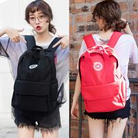 女男高中学生书包双肩背包2019新款时尚韩版休闲旅行包
