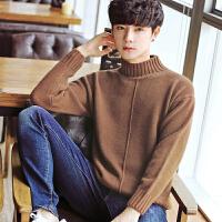 【买到即赚到!】冬季毛衣男士韩版半高领毛衣加厚保暖针织衫帅气线衣打底衫外套潮