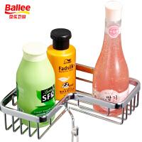【货到付款】贝乐BALLEE 三角带钩网篮 TL007 铬色 卫浴挂件/浴室置物架
