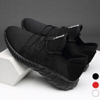 宜驰 EGCHI 休闲男士时尚运动跑步透气网布男鞋子 U3018