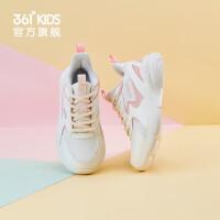 361度童鞋 女童�\�有蓍e鞋2020冬季新款保暖中大童�和��\�有�跑步鞋子