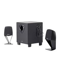 Edifier/漫步者 R102V居家桌面音箱 2.1 木�|多媒�w��X�P�本低音炮音�