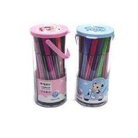 晨光文具冬己短杆筒装水彩笔 24色儿童可洗水彩笔TCP90170