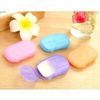 懿聚堂 LQ1250韩版新款创意家居香皂纸 旅行便携式肥皂片
