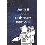 预订 Moon landing notebook: 50th Anniversary Moon Landing 196
