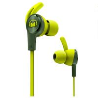 MONSTER/魔声iSport Achieve 爱运动 入耳式耳机 防缠绕线控带耳麦手机耳机 耳塞式跑步运动耳机 绿