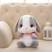 会说话的娃娃 小兔子智能对话白兔毛绒玩具公仔会说话跳舞唱歌的布娃娃儿童女孩