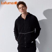 LAFUMA乐飞叶男士户外时尚轻便跑步运动连帽潮流卫衣LMJU9A611