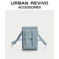 URBAN REVIVO2021春夏新品男士配件潮流竖款斜挎包AM20TB4N2002