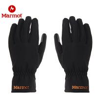 【开学季】Marmot/土拨鼠户外防泼水休闲舒适男女时尚有型软壳手套