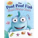 预订 The Pout-Pout Fish Giant Sticker Book: Over 1000 Sticker