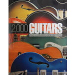 2000 Guitars(ISBN=9781607100126) 英文原版