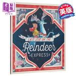 【中商原版】驯鹿快车的最后一站 英文原版 Last Stop on the Reindeer Express 圣诞故事