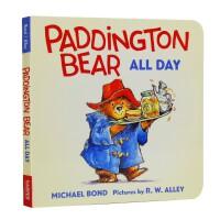 进口英文原版 Paddington Bear All Day 帕丁顿熊繁忙的一天