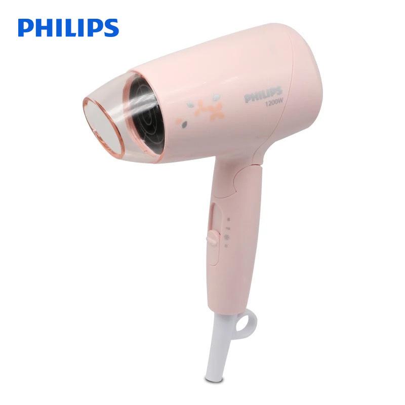飞利浦(Philips) 电吹风机BHC010/05大功率电吹风家用可折叠小巧吹风筒恒温 3档灵活预选定 1200W快速吹干 恒温可折叠