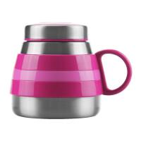 不锈钢保温杯男女士可爱时尚大肚杯创意便携水杯商务办公杯子340ml