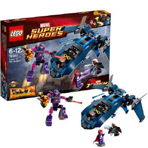 [当当自营]LEGO 乐高 超极英雄系列 X战警对决哨兵 积木拼插儿童益智玩具 76022