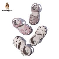 暇步士女童凉鞋2020夏季新款中童公主鞋防滑软底舒适小童包头凉鞋