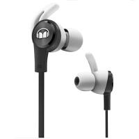 MONSTER/魔声iSport Achieve 爱运动 入耳式耳机 防缠绕线控带耳麦手机耳机 耳塞式跑步运动耳机 黑