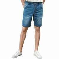【网易严选3件3折】男式休闲牛仔短裤