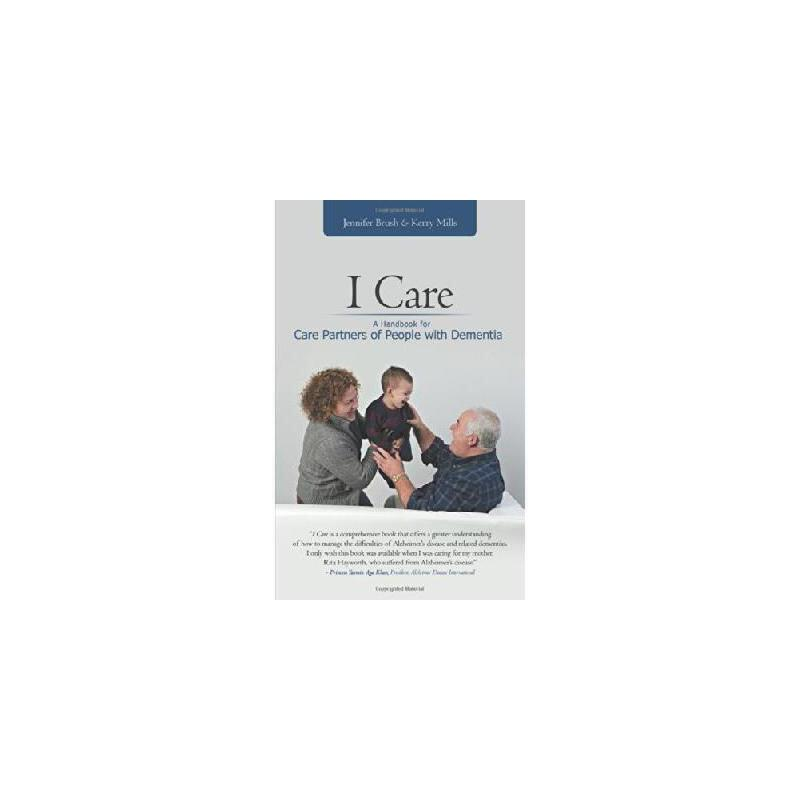 【预订】I Care: A Handbook for Care Partners of People with Dementia 美国库房发货,通常付款后3-5周到货!
