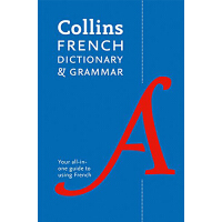 【中商原版】英文原版 Collins Dictionary And Grammar  柯林斯法语语法字典