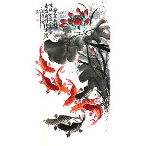 何奕勇(连年有余)广西省美术家协会会员