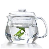 楼龙 创意企鹅茶壶 玻璃壶 茶具 耐热玻璃泡茶壶 CF-101
