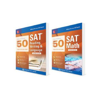 预订 McGraw-Hill Education Top 50 SAT Skills Savings Bundle, Second Edition [ISBN:9781259835339] 美国发货无法退货 约五到八周到货