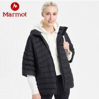 Marmot/土拨鼠2020新款户外拒水防风透气轻薄女士700蓬羽绒服