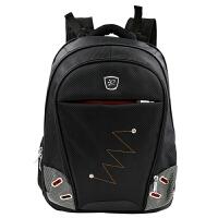 沐阳 MYA07 笔记本电脑背包 商务休闲双肩包 男女大中学生书包 户外旅行包 电脑包 15.6英寸多功能双肩包 时尚