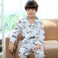 儿童睡衣春秋款长袖纯棉卡通男孩子童装全棉韩版亲子宽松小童套装607