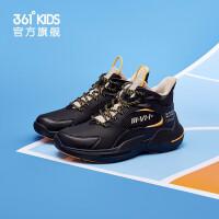 【1件5折到手预估价:112】361童鞋 男童运动篮球鞋2021冬季儿童保暖中大童运动篮球鞋子