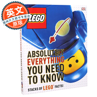 DK乐高 你需要知道的每一件事 英文原版 Lego Absolutely Everything You Need to