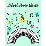 预订 Blank Piano Sheets: Music Staff Notebook [ISBN:978172881