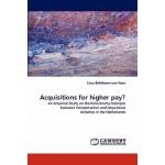 【预订】Acquisitions for Higher Pay?