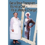 预订 Get a Brain Transplant, It's Not a Diet, It's a Lifestyl