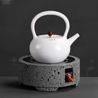 电陶炉家用煮茶器小型静音烧水陶壶办公室大号陶瓷电热烧茶壶套装