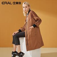 ERAL/艾莱依2018秋冬新款大衣收腰显瘦外套女617064019