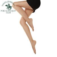 圣大保罗丝袜女士袜子单条连裤袜12D性感潮女包芯丝美腿防勾丝肉色黑色打底透明夏季薄款 9906-1